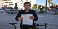 Bisikletli gence kırmızı ışık cezası mahkemeden geri döndü