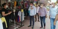 MHP Alanya esnafını yalnız bırakmıyor