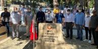 MHP#039;den şehitlerimize bayram ziyareti