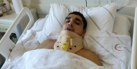 Alanya#039;da doğal havuza atlayarak kafasını taşa vuran genç felç geçirdi
