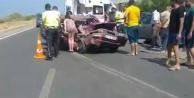 Alanya#039;da feci kaza! 2#039;si ağır 4 yaralı var