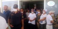 Alanya#039;da kaçak otele mühürlemeye benzinli direniş