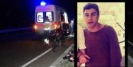Alanya#039;da motosiklet direğe çarptı; 1 ölü, 1 yaralı var