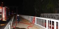 Alanya#039;da otelde yangın çıktı