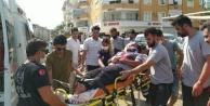 Alanya#039;da otomobil refüje çıktı: 1 yaralı var