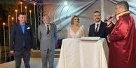 Alanya#039;da ülkücüler bu düğünde buluştu