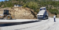 Alanya#039;daki o yol asfaltlandı