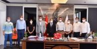 Alanya MHP#039;den Başsavcı Kesgin#039;e ziyaret
