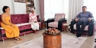Başkan Yücel#039;den şehit ailelerine ziyaret
