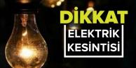 Dikkat! Alanya ve Gazipaşa#039;da elektrik kesintisi var