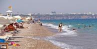 Dünyaca ünlü sahilde '2M-2E başlıklı korona virüs uyarısı
