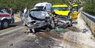 Feci kaza: 2#039;si ağır 9 yaralı var