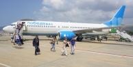 Gazipaşa, Rusya#039;dan gelen ilk uçuşu karşıladı
