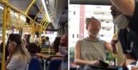 Halk otobüsü içerisindeki maske kavgası karakola taşındı