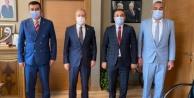 Türkdoğan#039;dan MHP Genel Merkezi#039;ne ziyaret