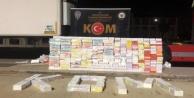900 bin liralık kaçak sigara ele geçirildi