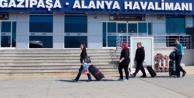 Ağustosta Alanya-GZP Havalimanı#039;na kaç turist geldi?