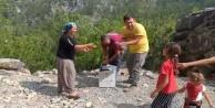Alanya#039;da keklikler doğaya salındı
