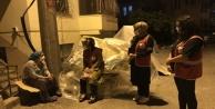 Alanya#039;da kiracısını eşyaları ile birlikte dışarı attı