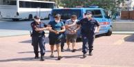 Alanyada 1 ton bakır kablo çalan 2 hırsız tutuklandı