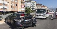 Alanyada feci kaza: 2 yaralı