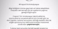 """Antalyaspordan açıklama: İnceleme yapılacaktır"""""""