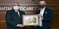 ATSO Başkanı Çetin#039;den Finli yatırımcılara Antalya daveti