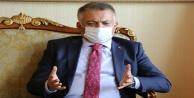 """Vali Yazıcı: 3-5 binle başlayan sayılarımız şu anda günlük 40 binlerde"""""""