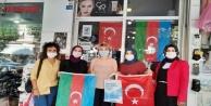 Ak Partili kadınlardan Alanya#039;da yaşayan Azerilere destek
