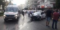 Alanya#039;da feci kaza: 2 kadın yaralı var
