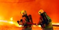 Alanya#039;da korkutan yangın! Alevler evi sardı