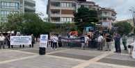 Alanya#039;da Macron protesto edildi