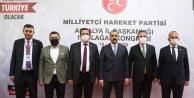 Alanya#039;dan 4 isim MHP Üst Kurul Delegesi oldu