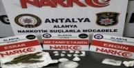 Alanyada polisten uyuşturucu ticaretine darbe!
