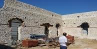 Alanyanın Çıplaklı Mahallesinde bulunan tarihi Gülevşen Cami gün yüzüne çıkıyor
