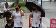 Antalya#039;da sonbaharın ilk yağmuru