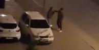 Cadde ortasında kadına attığı tokat mahalleyi ayağa kaldırdı