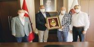 CHPli Vekillerden Başkan Şahine ziyaret