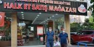 KORKOOP ürünleri Alanya Halk Et#039;te