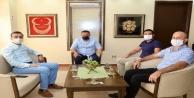 MÜSİAD Başkanı Yüceli ziyaret etti