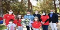 """Vali Yazıcı, Sağlık Çalışanları Anne ve Kız Kampı""""na katıldı"""