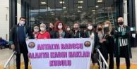 Alanya#039;da Avukatlardan 25 Kasım Açıklaması