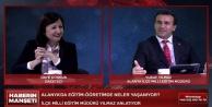Alanya#039;da canlı yayında yolsuzluk iddiası