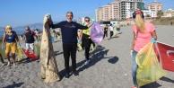 Alanya#039;daki yerleşik yabancılardan örnek davranış