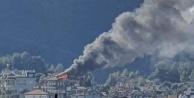 Alanya Kalesi#039;nde korkutan yangın