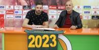 Aytemiz Alanyaspor, Marafona#039;nın sözleşmesini uzattı