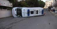 Antalya#039;da ambulans kazası: 1 hemşire yaralı