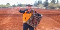 Antalya Orman Çiftliğine 10 ton ekmeklik buğday ekildi