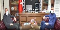 Başkan Tokludan Alanya Müftüsü İlhana ziyaret