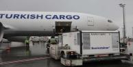 Korona virüs aşılarını Turkish Cargo taşıyor